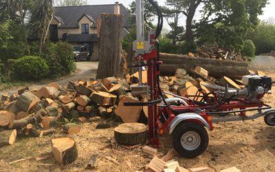 Log Splitter Lange Firewood