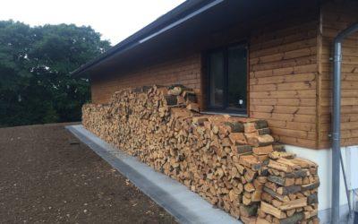 A good day just splitting logs